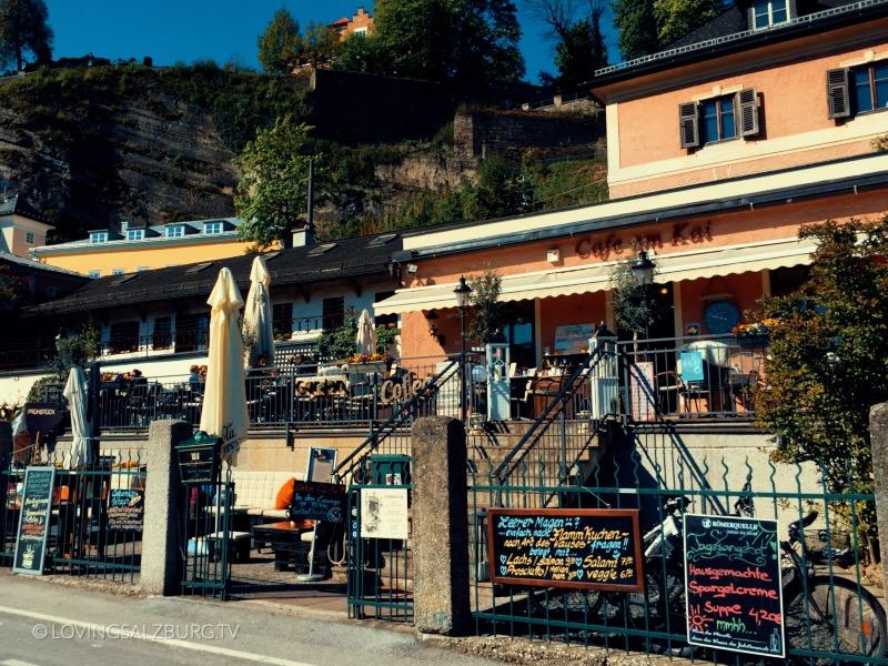 loving Salzburg // Cafe am Kai